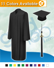 Bachelor Cap & Gown
